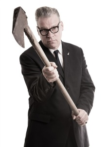 Mark Kermode wields a hatchet